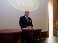 Ehrenmitglied Wilhelm Wackerbeck mit einer launigen Begrüßung