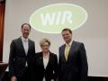Für die nächsten zwei Jahre gewählt - Maik Hinzmann (li), Marianne Urfey und Manfred Handke (re)