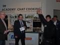 Glücksmomente für David Madry. Mit dem Blog www.veggie-tv.de eroberte er einen Food Blog Award
