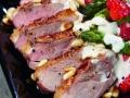 Krups Prep & Cook - Spargelsalat mit Erdbeeren und Entenbrust, S.37