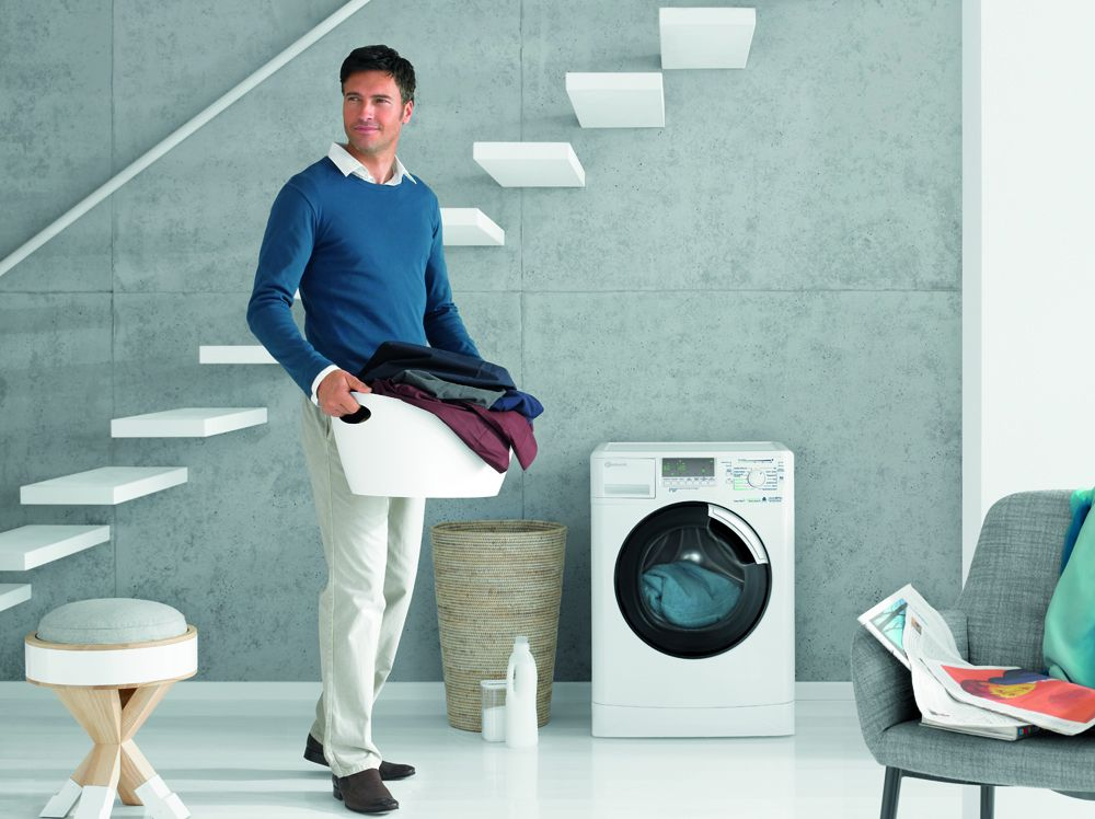 bauknecht als erster mit t v gepr fter waschmaschine. Black Bedroom Furniture Sets. Home Design Ideas