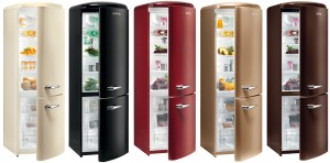 Farbige Kühl-Gefriekombinationen Retro Collection RK 603510 von Gorenje