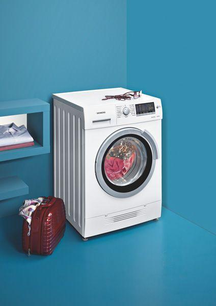 siemens zeigt weltweit ersten waschtrockner mit. Black Bedroom Furniture Sets. Home Design Ideas