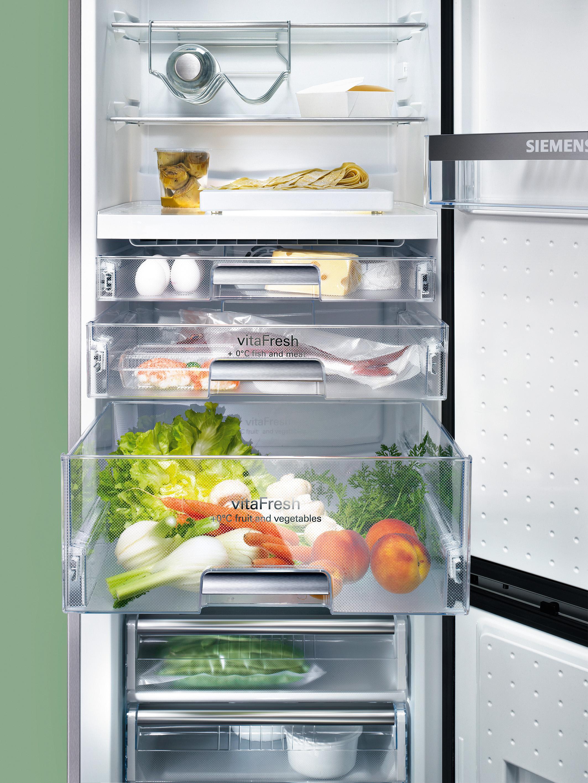 Frisch gekuhlt haltbarkeit gewonnen vitafresh oder das for Siemens kühlschrank