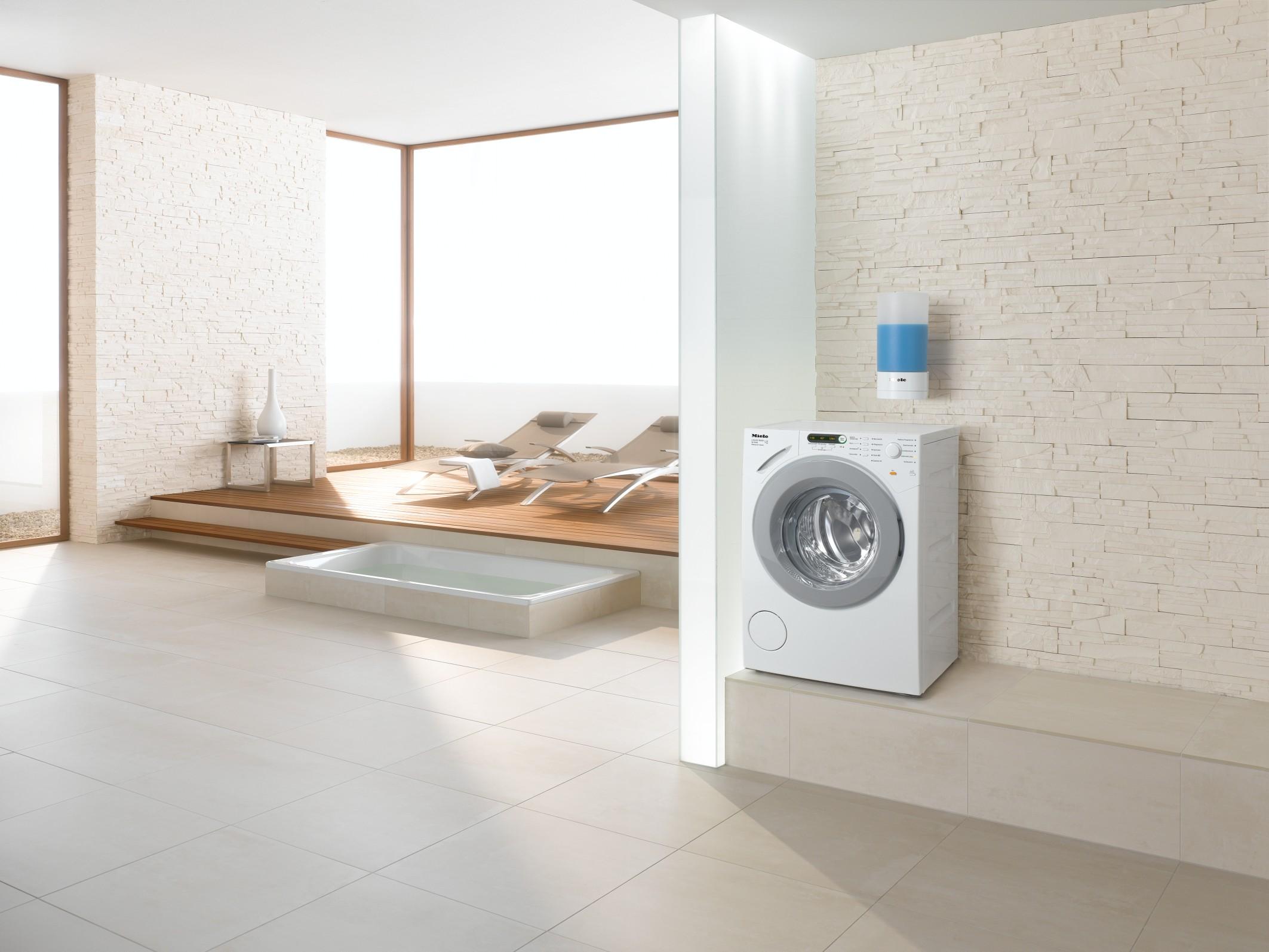 mit automatischer dosierung f r fl ssigwaschmittel. Black Bedroom Furniture Sets. Home Design Ideas