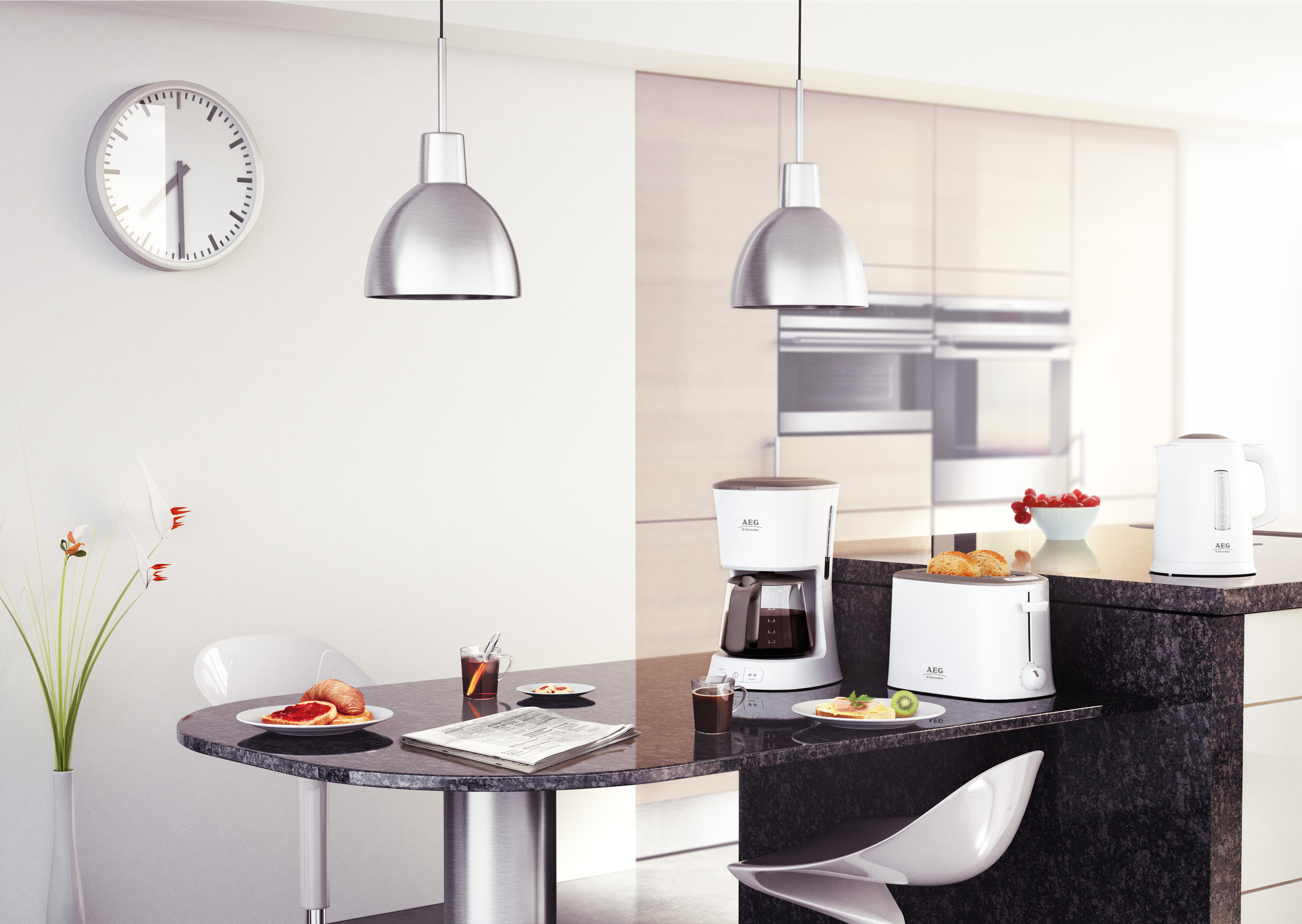 mit ergosense von aeg den perfekten morgen erleben kaffeemaschine wasserkocher und toaster. Black Bedroom Furniture Sets. Home Design Ideas