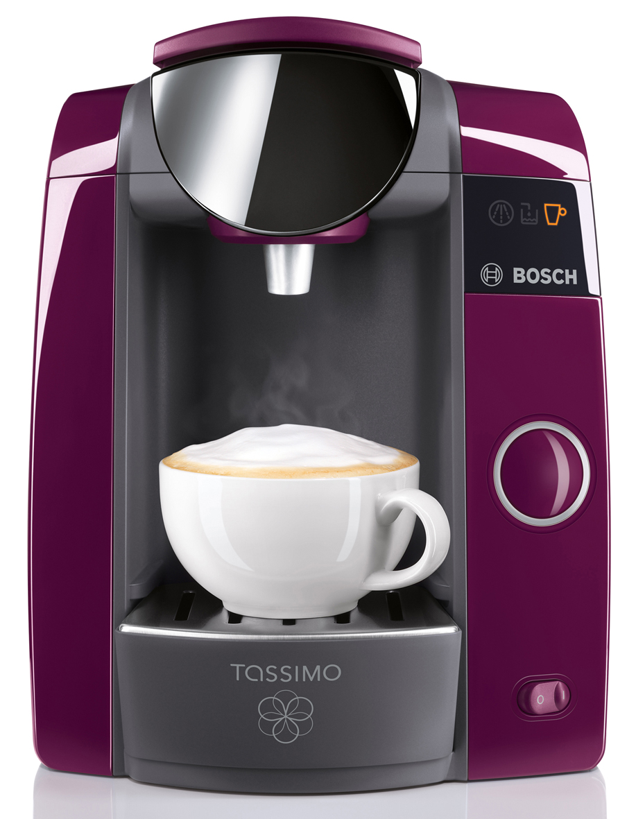 bosch tassimo joy kaffeemaschine kapselsystem mit ein knopf bedienung. Black Bedroom Furniture Sets. Home Design Ideas
