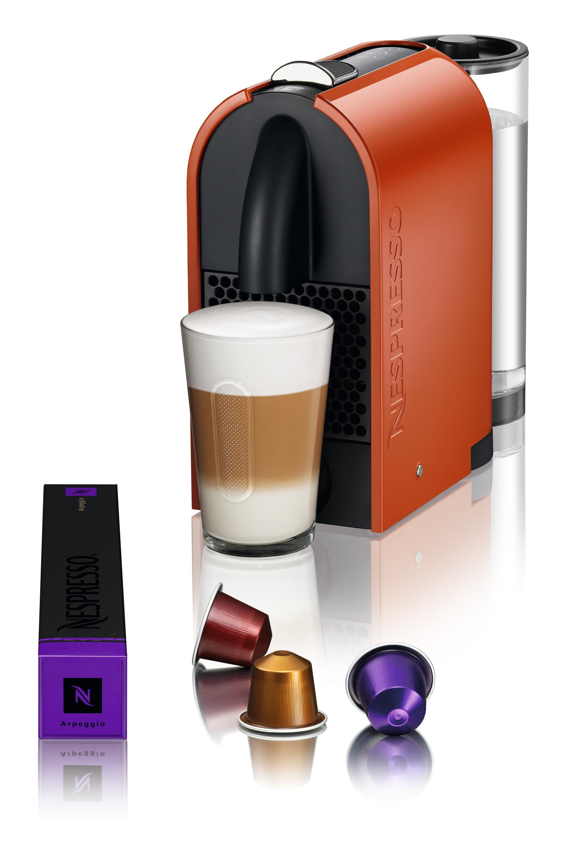 de longhi nespresso u kapselmaschine elegant flexibel intelligent. Black Bedroom Furniture Sets. Home Design Ideas