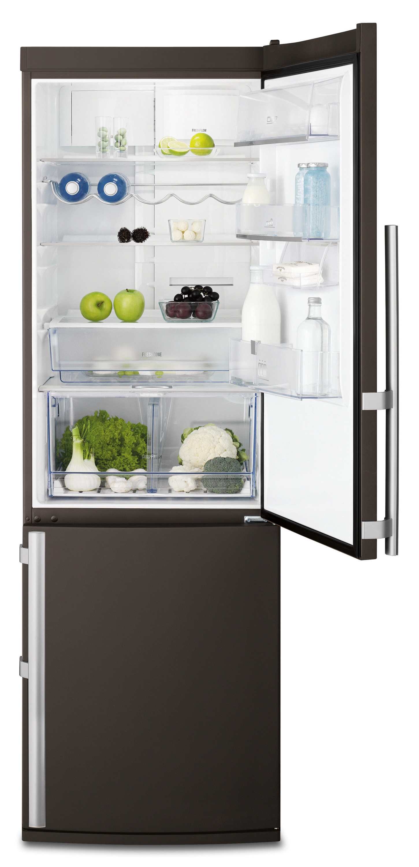 electrolux color fridge k hl gefrierkombination energieeffizienzklasse a mit frostfree system. Black Bedroom Furniture Sets. Home Design Ideas