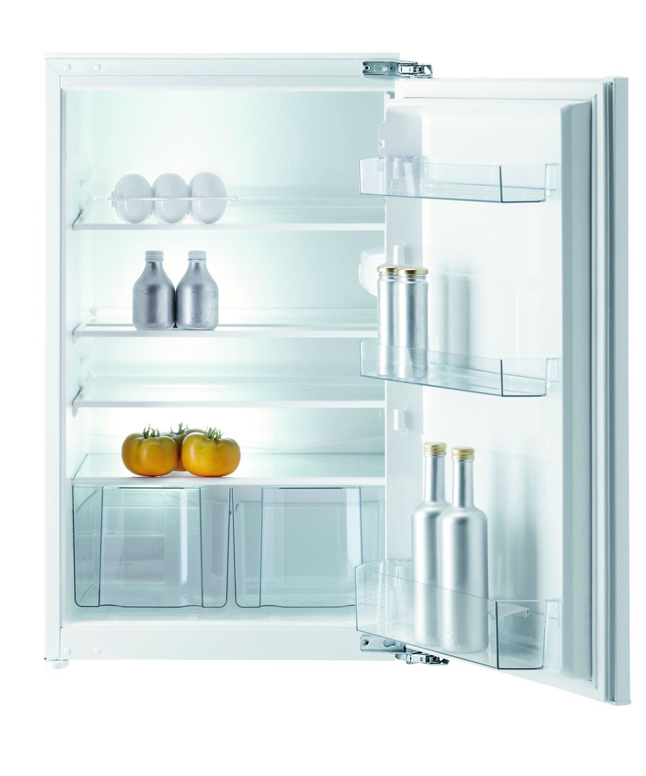 gorenje simply white ri 5092 aw k hlschrank h lt obst und gem se lange frisch. Black Bedroom Furniture Sets. Home Design Ideas