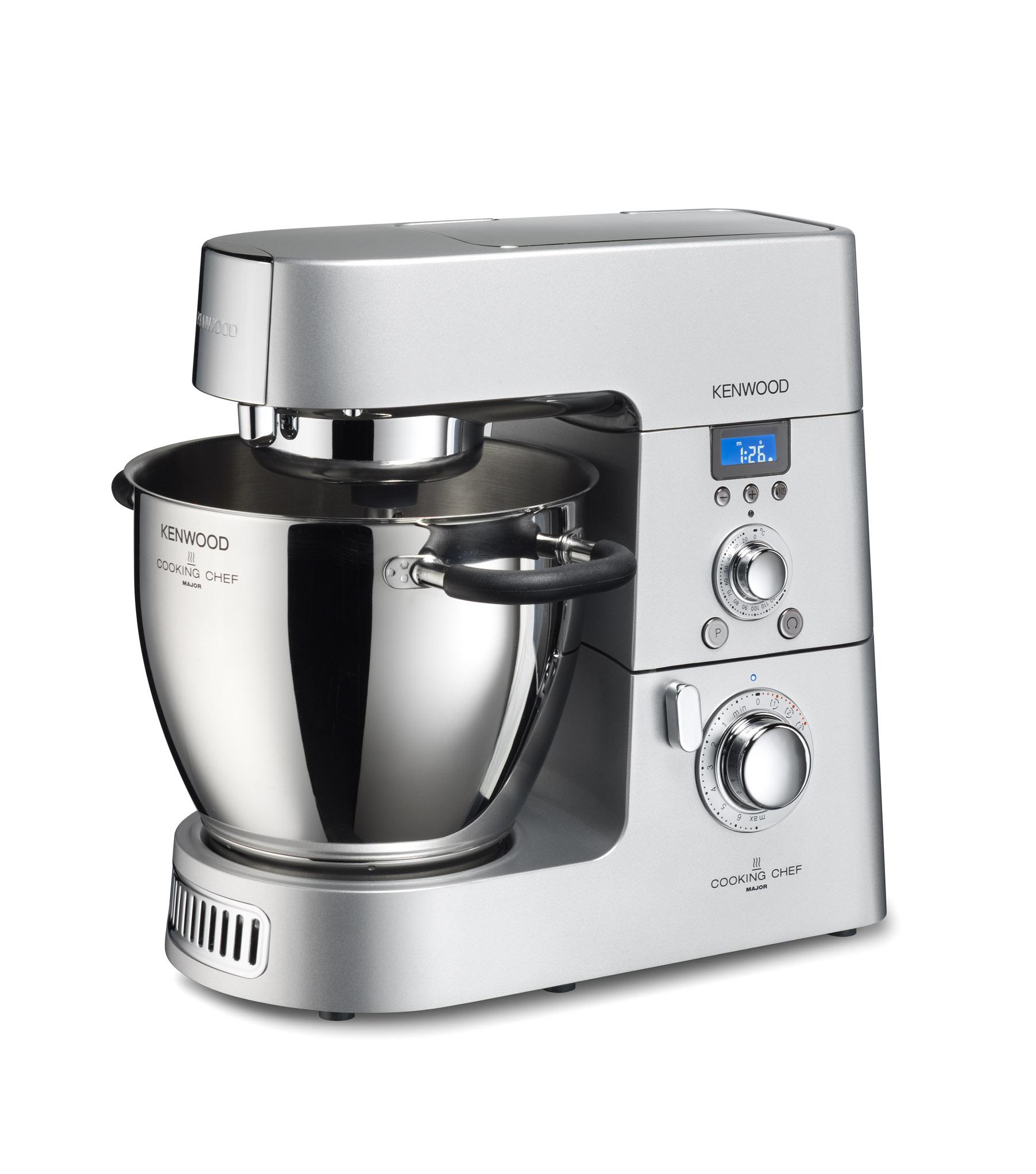 Kenwood Cooking Chef: Die Küchenmaschine, die auch kochen kann