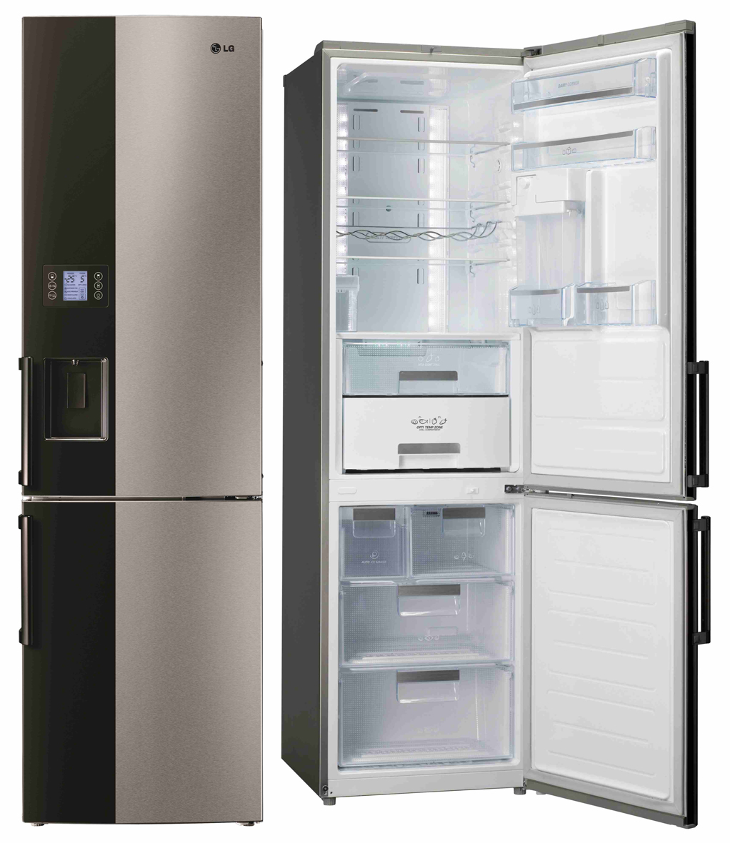 mit auto icemaker lg k hl gefrierkombination gb 7143 a2bz mit auto. Black Bedroom Furniture Sets. Home Design Ideas