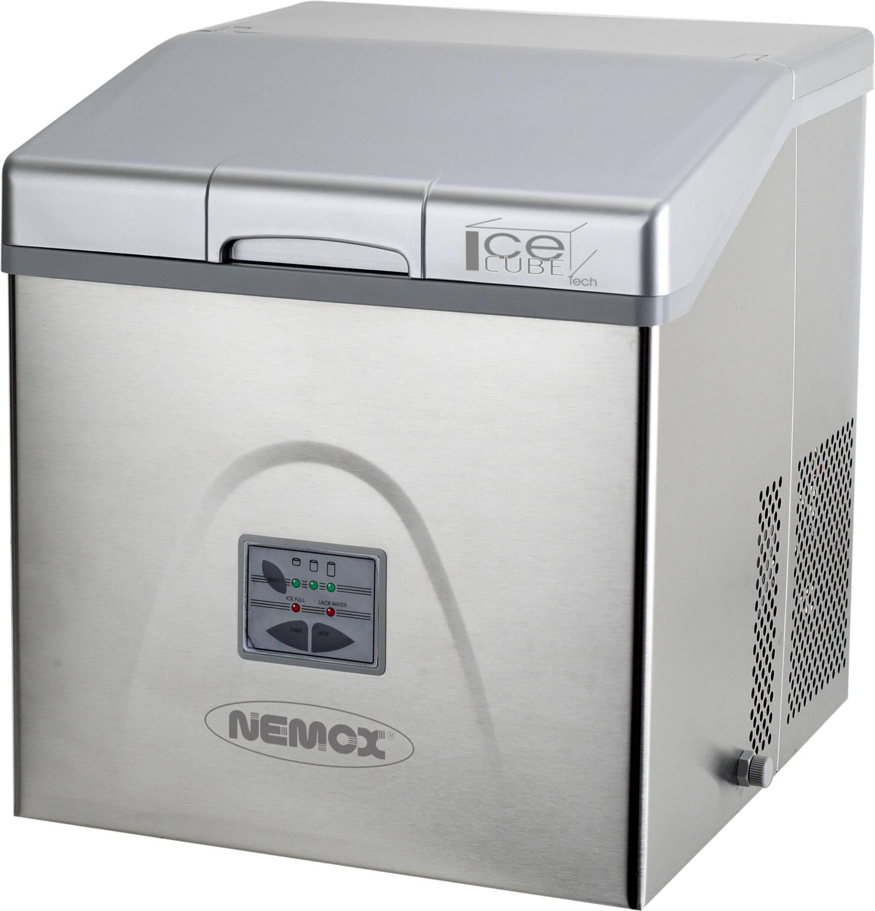 Nemox eiswurfelbereiter ice cube tech stundlich bis zu for Eiswürfelbereiter