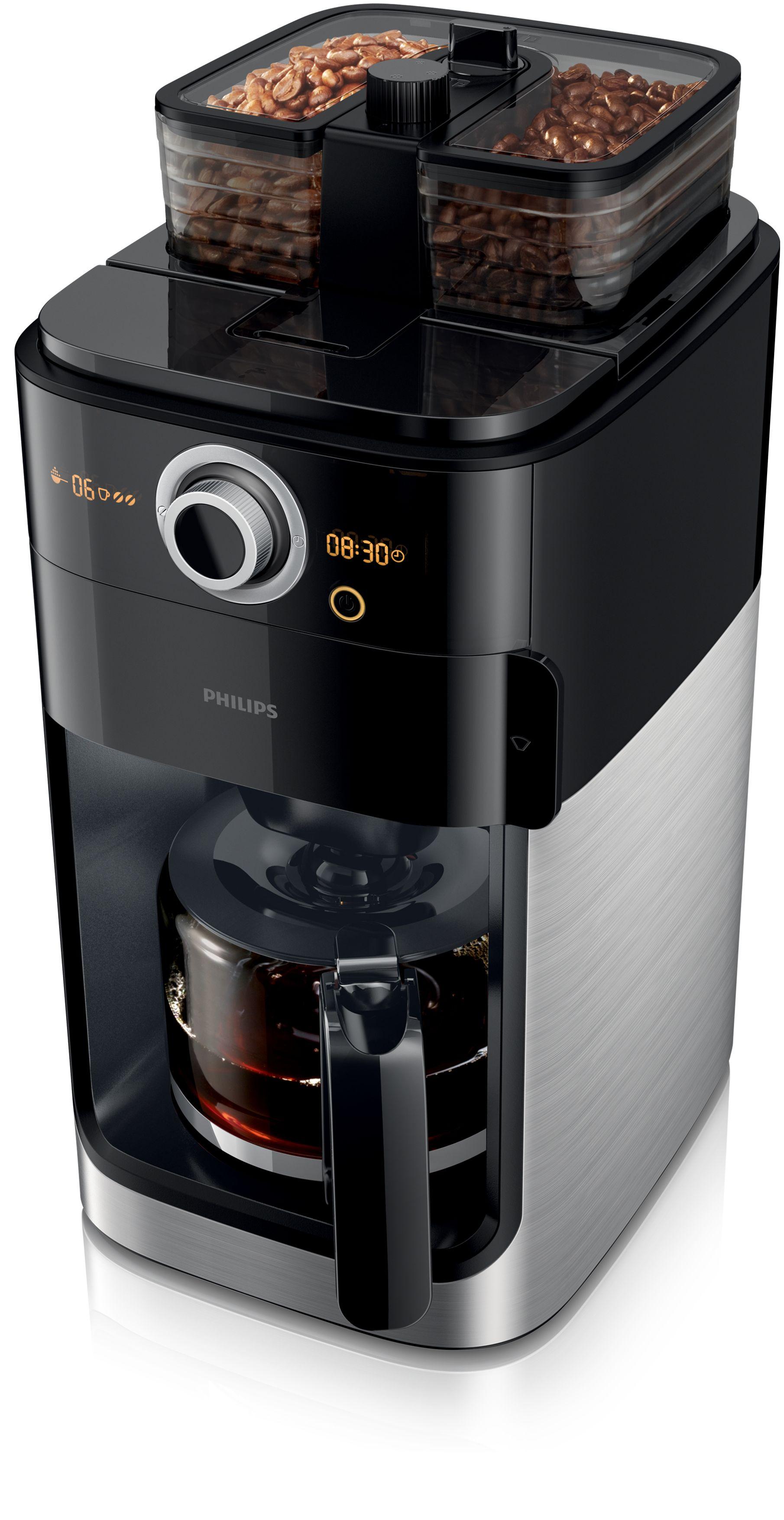 philips hd7762 00 filterkaffeemaschine grind brew kaffeebohnen nach geschmack mischen und. Black Bedroom Furniture Sets. Home Design Ideas
