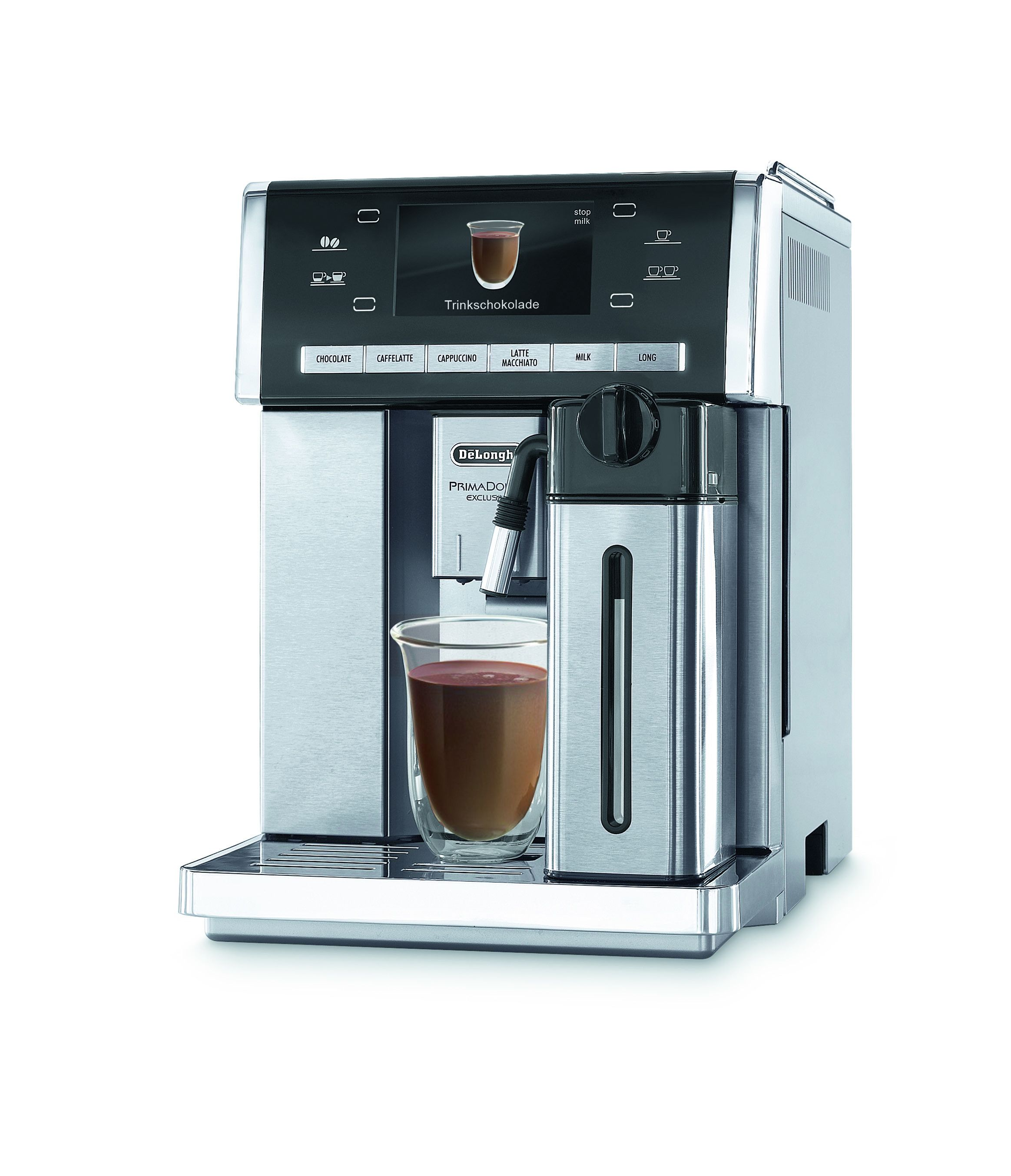 Kaffeeautomat mit kakao funktion