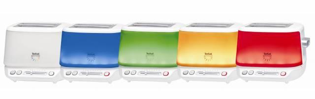 Licht aus - Toaster an: Der neue n'Light Toaster von Tefal
