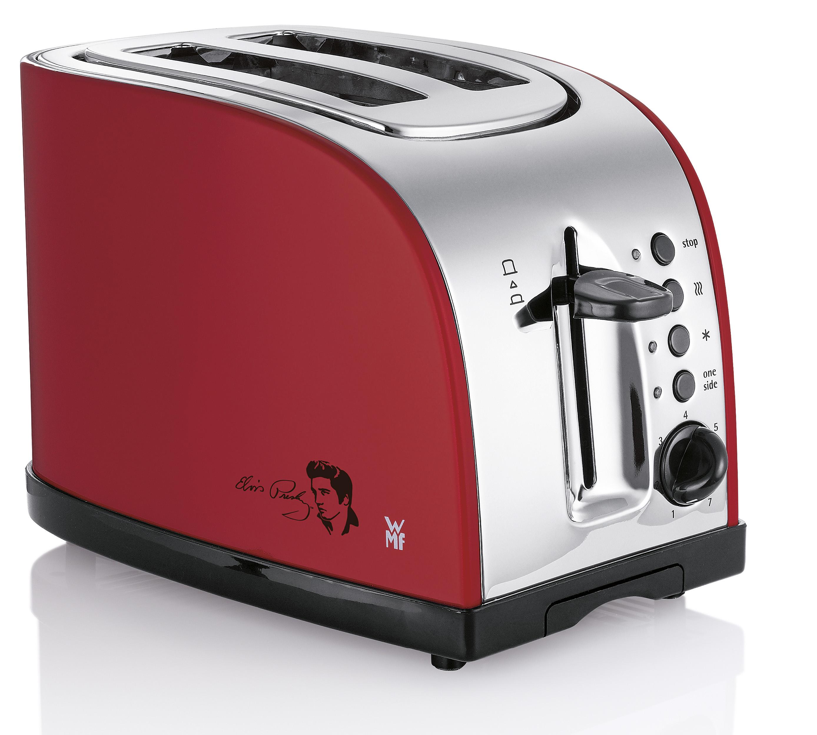 wmf only you toaster mit toasts und elvis schwungvoll. Black Bedroom Furniture Sets. Home Design Ideas