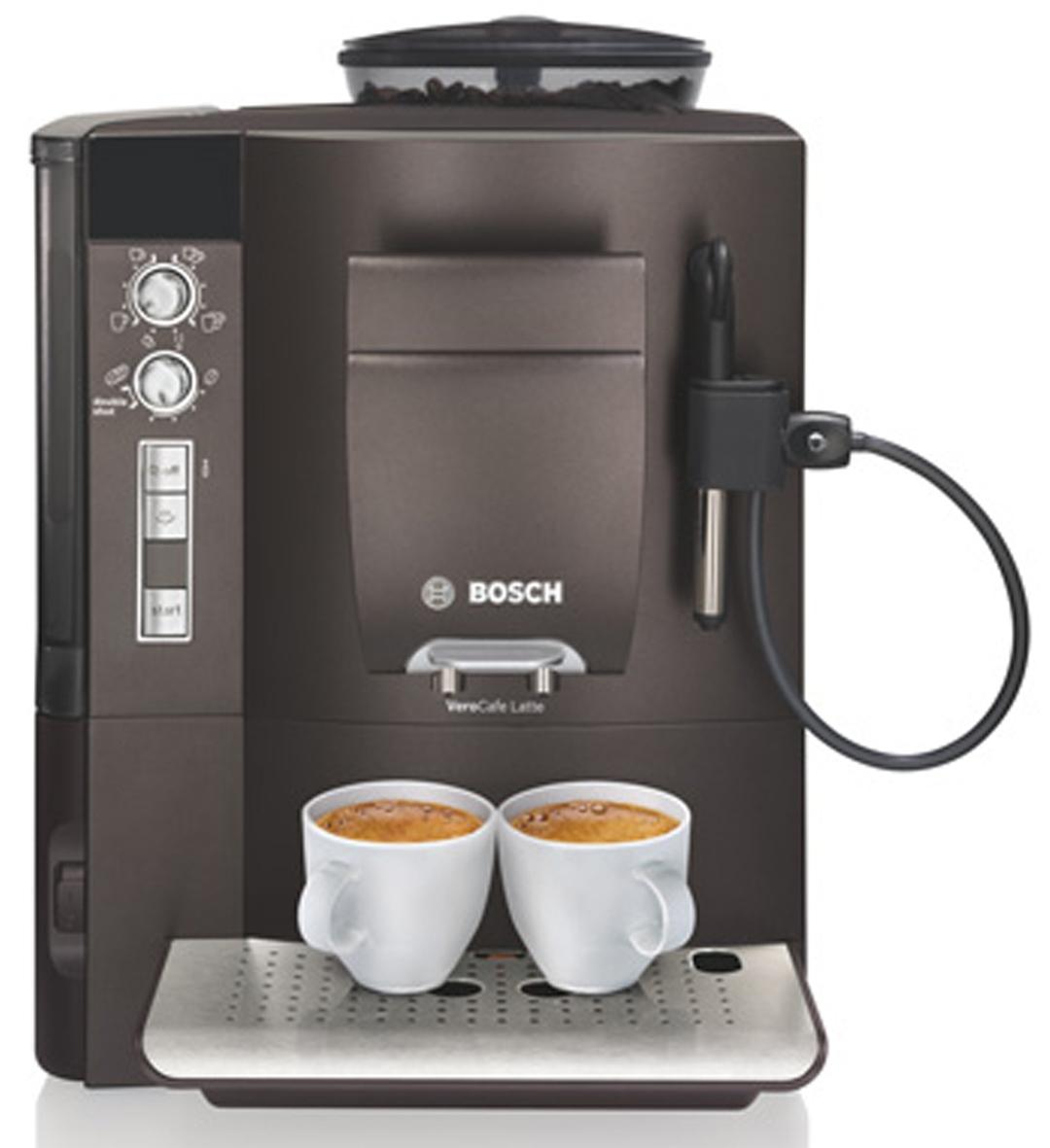bosch verocafe dunkelbraun kaffeevollautomat bosch. Black Bedroom Furniture Sets. Home Design Ideas