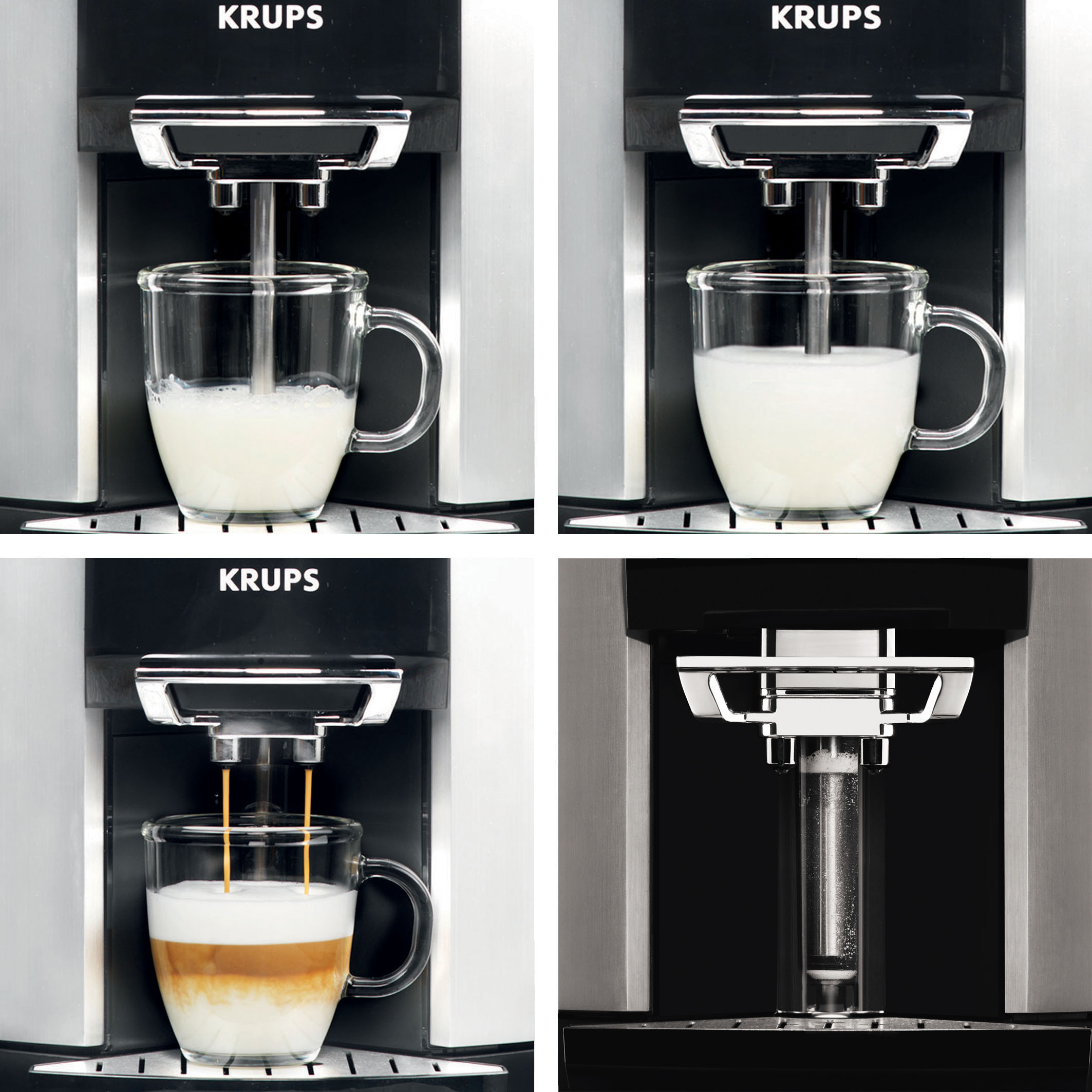 krups ea 9000 milchschaumvorgang krups ea 9000 kaffeevollautomat mit one touch bedienung. Black Bedroom Furniture Sets. Home Design Ideas