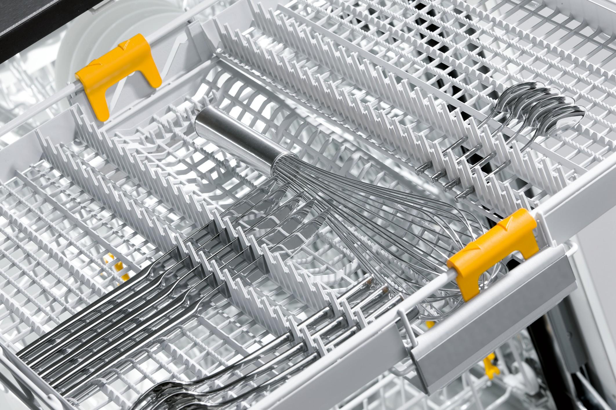 Miele geschirrspuler g 5000 besteckschublade detail for Geschirrspüler besteckschublade