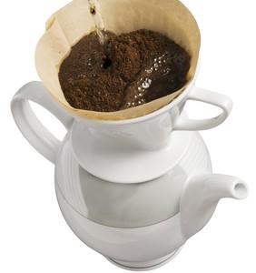 Kaffeekochen von Hand verspricht vielen anwendern mehr Genuss. (Bild: auf Kaffeevollautomat.org, Fotograf unbekannt.)