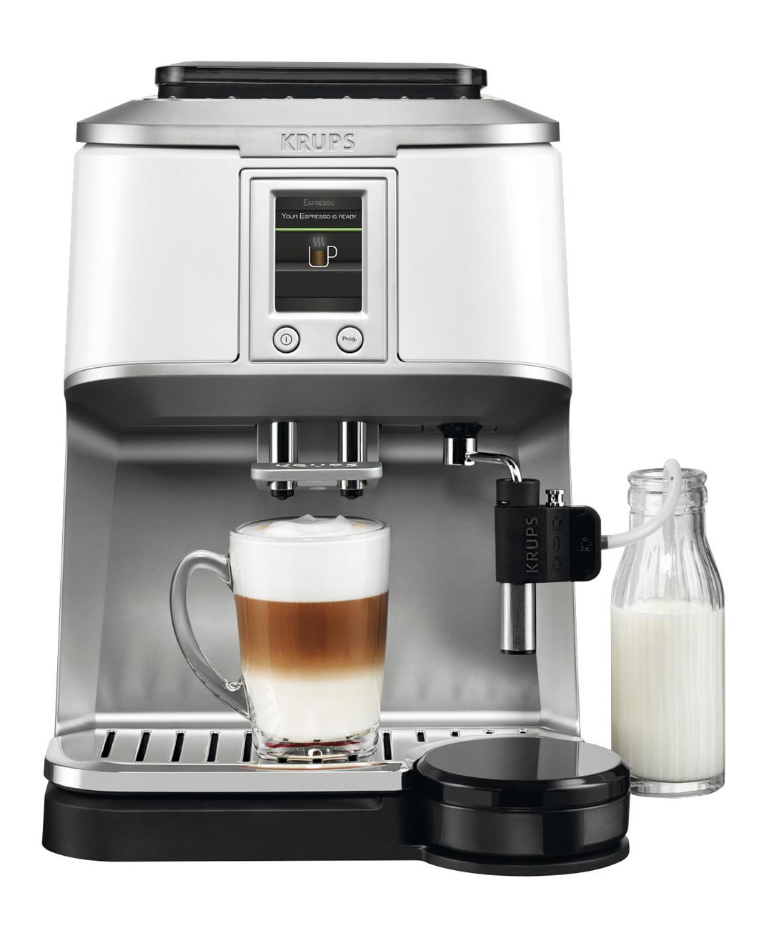 krups kaffeevollautomat latte tray f r klassischen kaffee. Black Bedroom Furniture Sets. Home Design Ideas