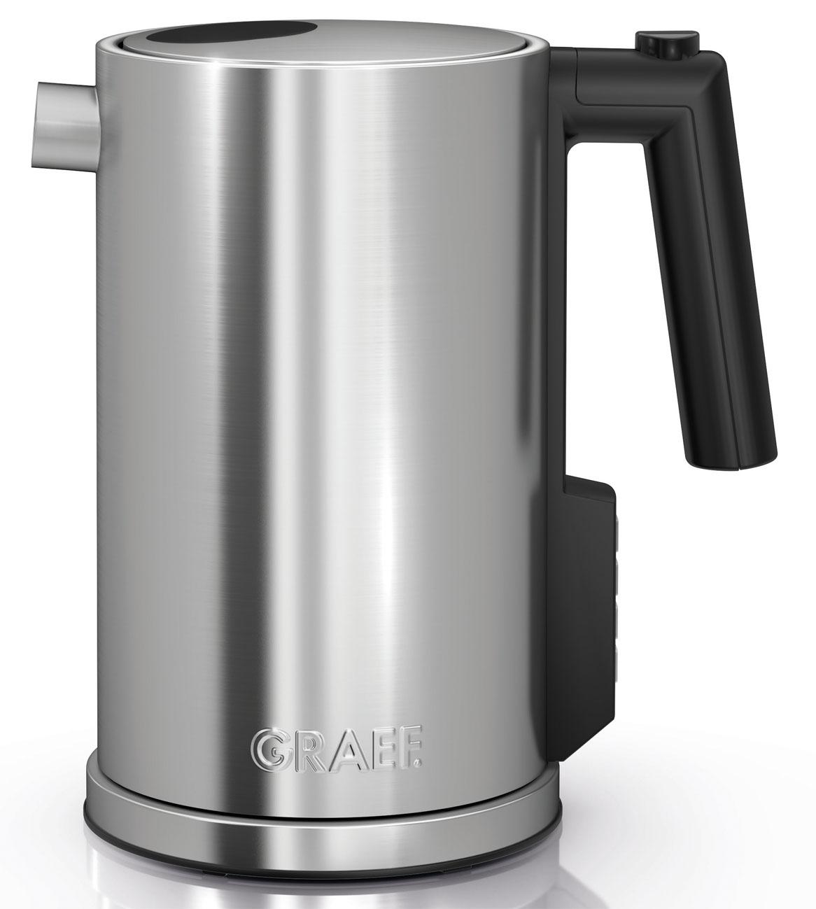 Graef Wasserkocher WK 900 – besonders für Kaffeeliebhaber  ~ Wasserkocher Für Induktionsherd