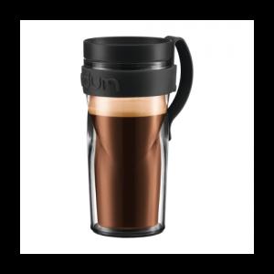 So ähnlich sieht er aus, der Travel Mug, den Bodum auf der IFA zum Tag des Kaffees austeilen wird.