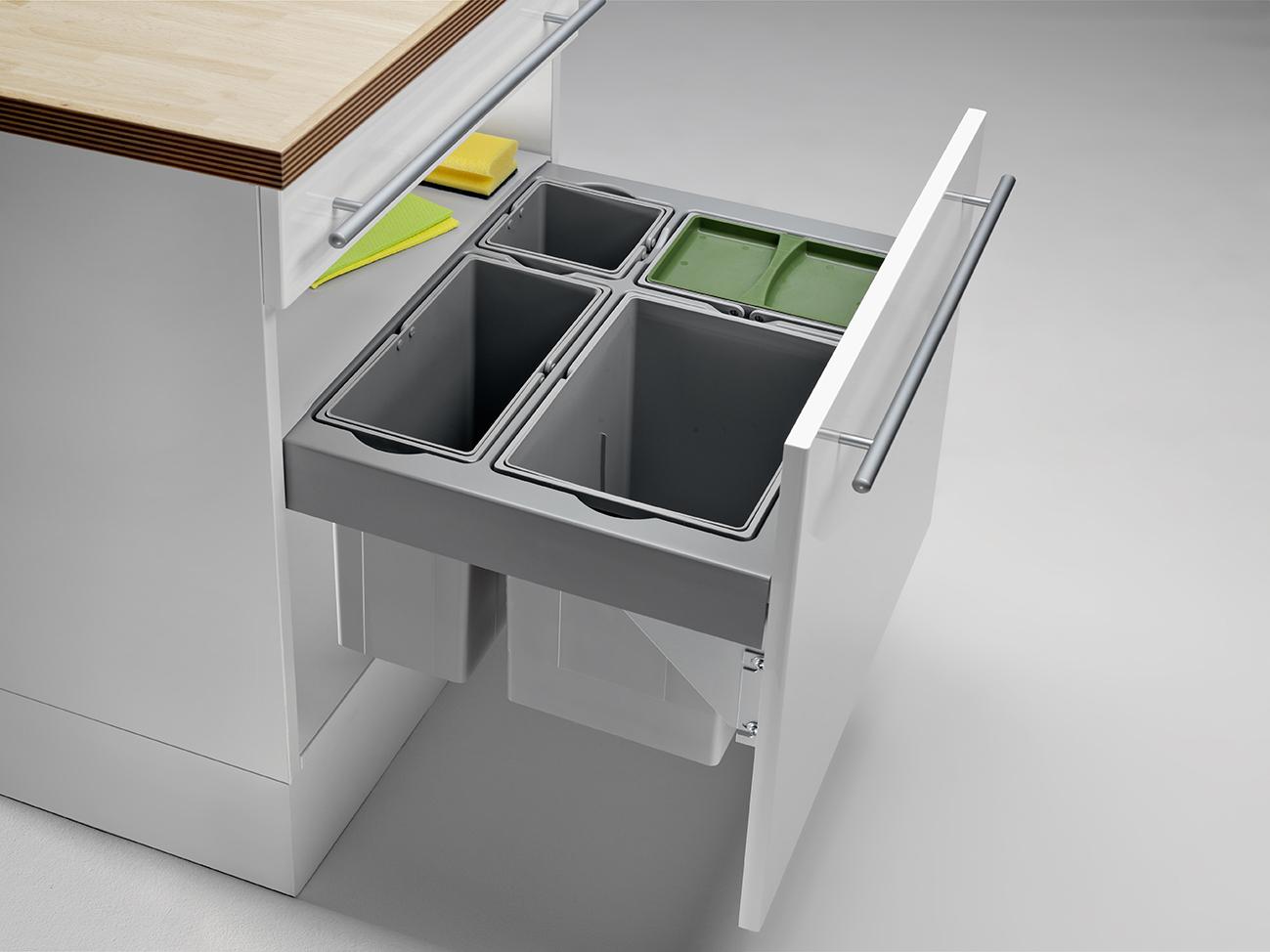 Mülltrennung innovative abfalltrennsysteme für die küche