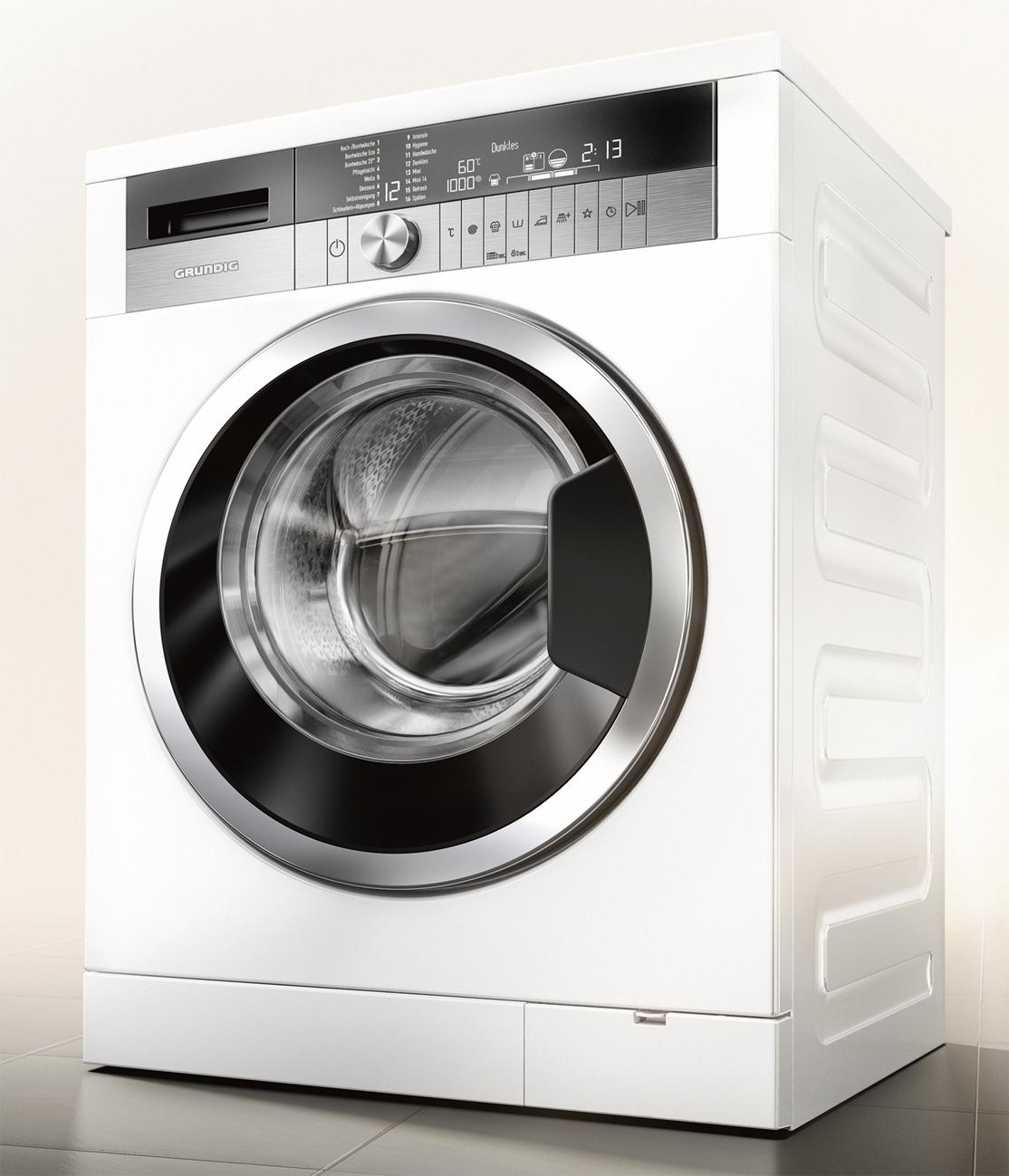 grundig waschmaschine gwn 58474 c mit multisense und. Black Bedroom Furniture Sets. Home Design Ideas