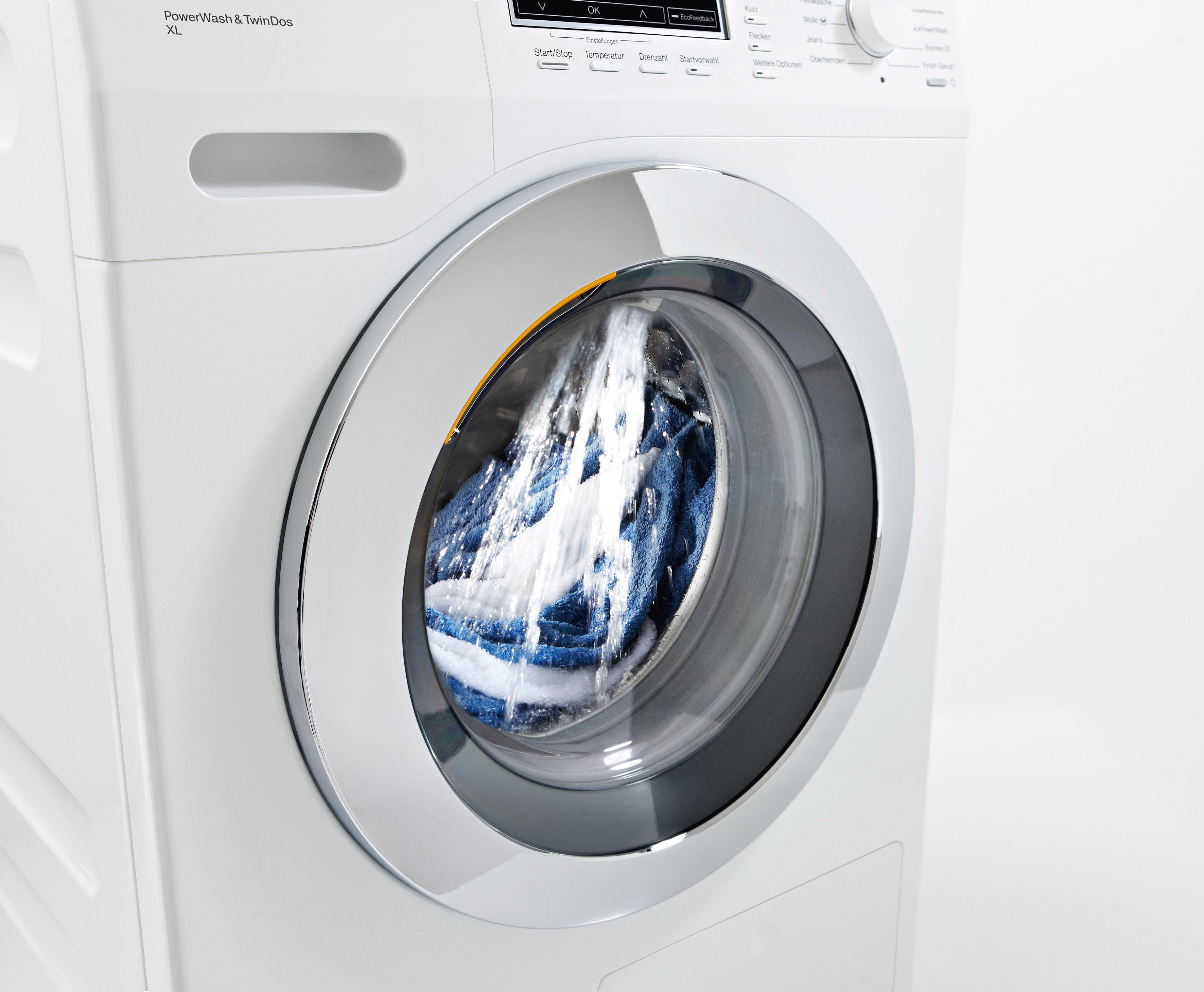 Im Waschmaschinen Test an der Spitze: Miele Waschmaschine W5861WPS