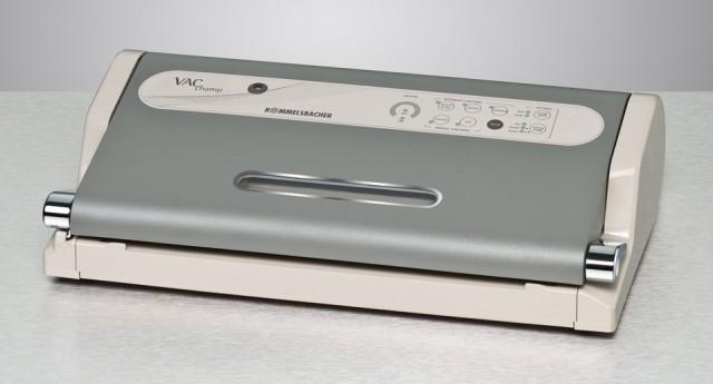 Hiflt gegen Lebensmittelverschwendung - Vukuumiren mit Rommelsbacher