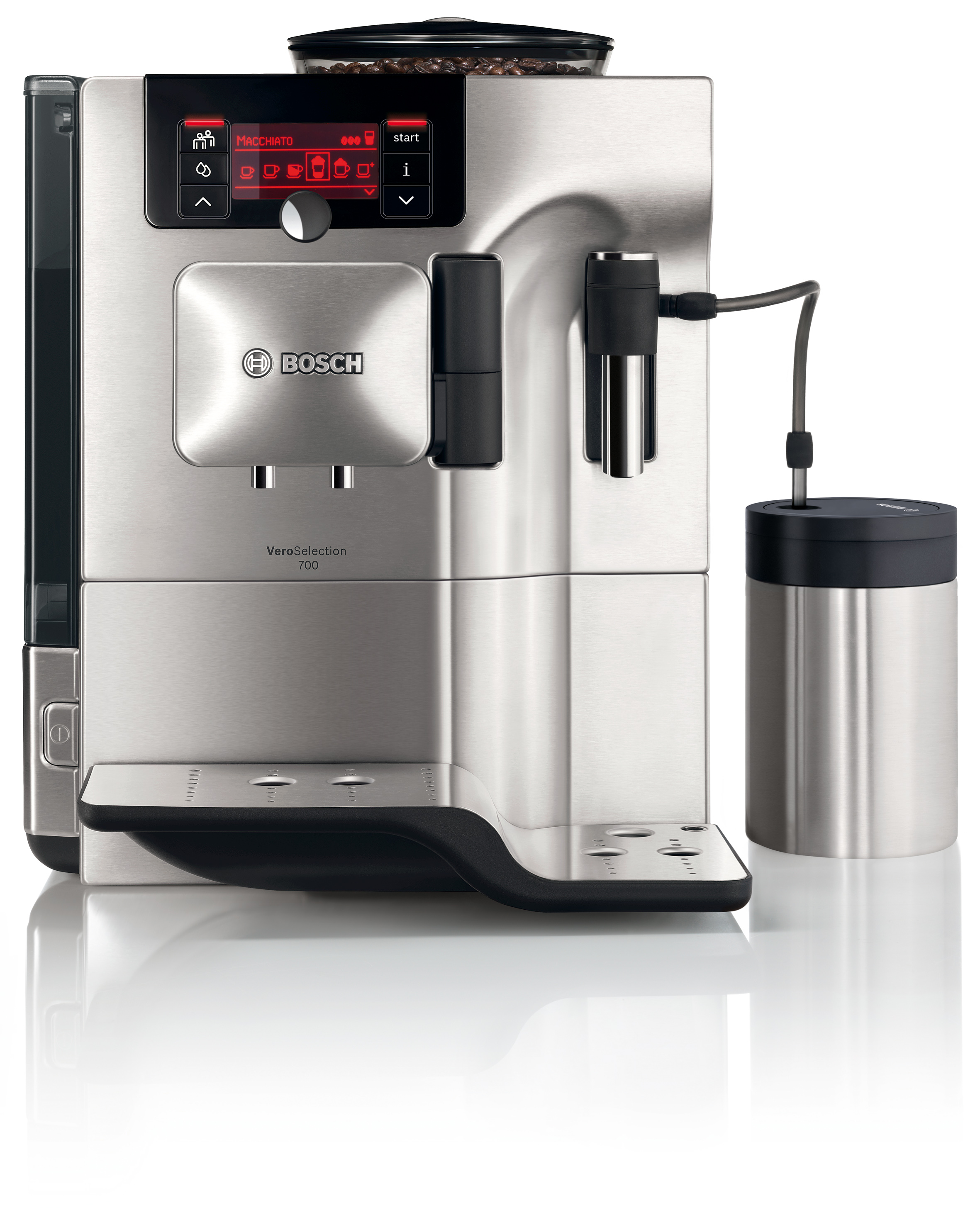 bosch vero selection 700 kaffeevollautomat 2 bosch. Black Bedroom Furniture Sets. Home Design Ideas