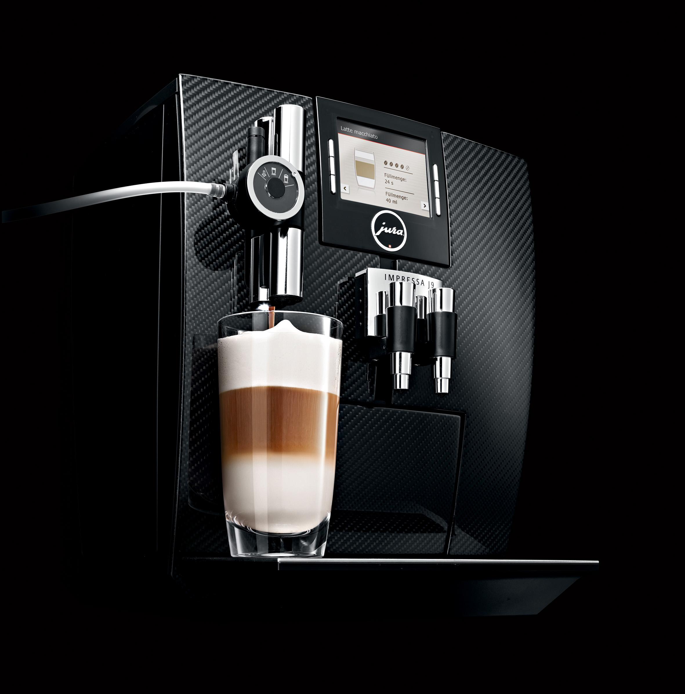 jura impressa j9 3 carbon 2 jura impressa j9 3 one touch tft kaffeevollautomat mit front aus. Black Bedroom Furniture Sets. Home Design Ideas