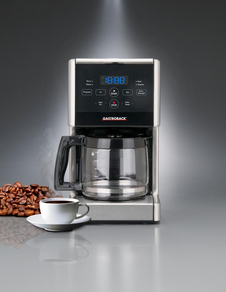 gastroback kaffeemaschine design coffee aroma pro bestes kaffeearoma f r jeden geschmack. Black Bedroom Furniture Sets. Home Design Ideas