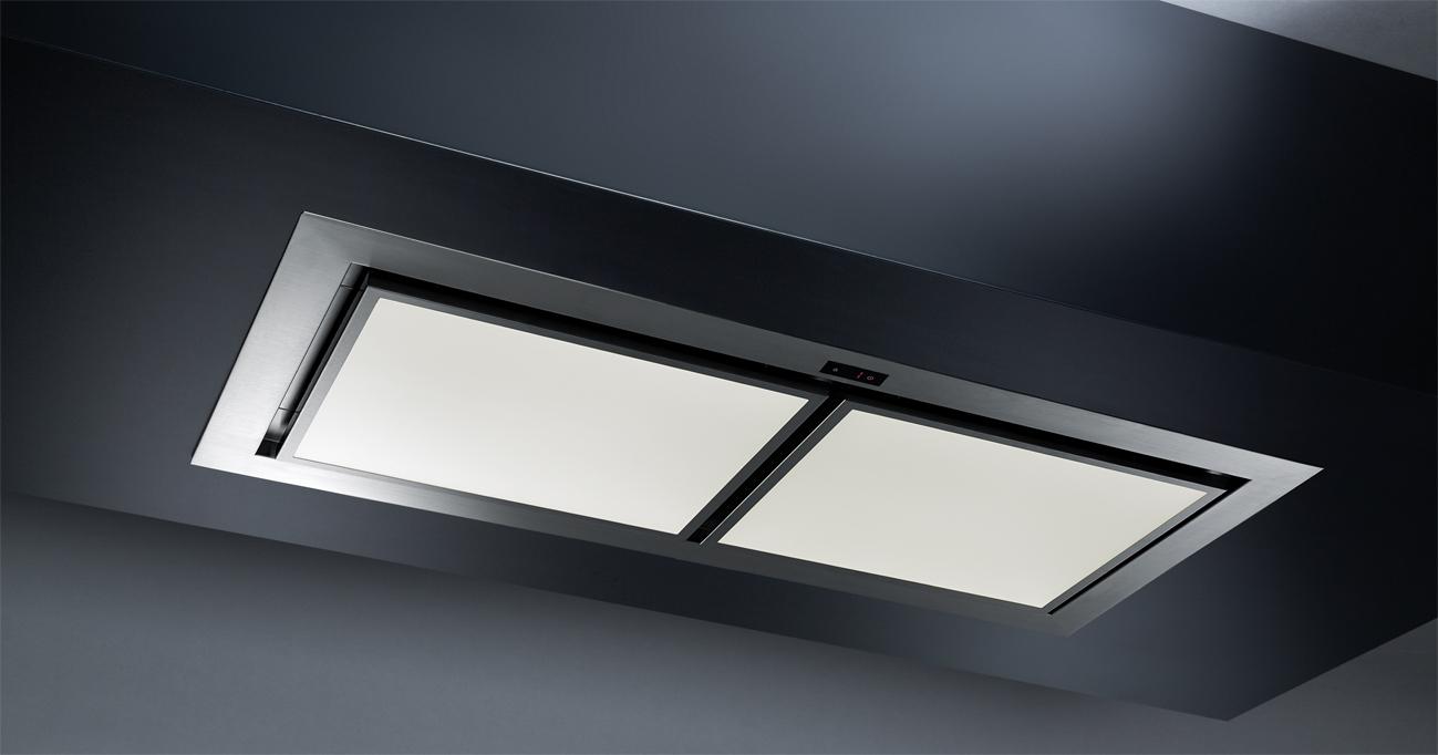 k ppersbusch dunstabzugshaube edl 12850 0 deckenl fter mit led lichtpaneelen. Black Bedroom Furniture Sets. Home Design Ideas