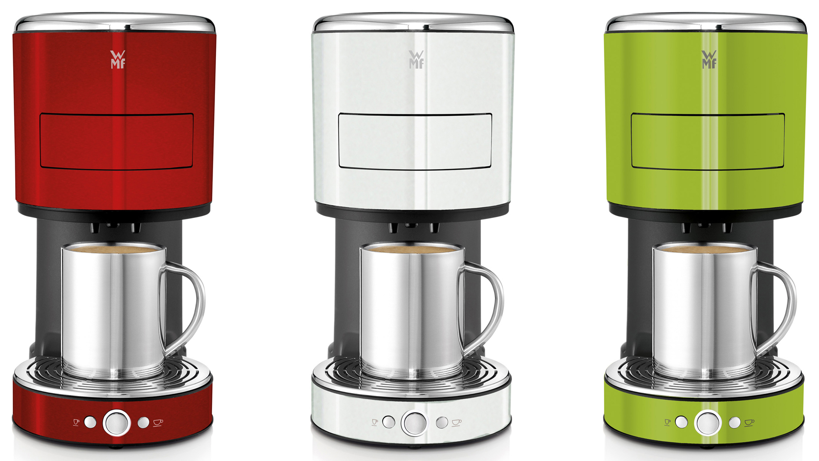 WMF Kaffeemaschine Lono Color – Kaffeepadmaschine in drei  -> Kaffeemaschine Wmf