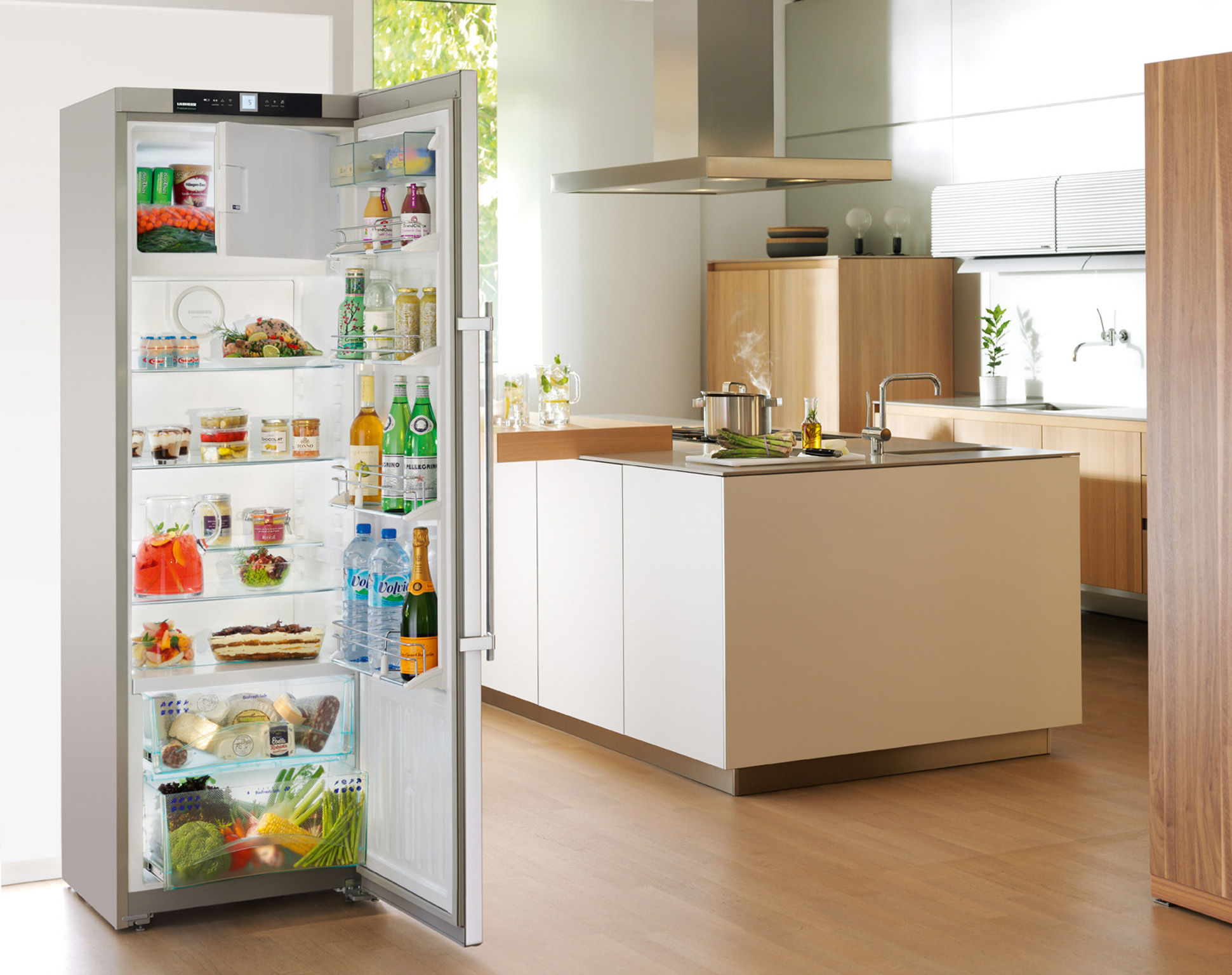 frischecenter k hlschrank welche lebensmittel geh ren wohin. Black Bedroom Furniture Sets. Home Design Ideas