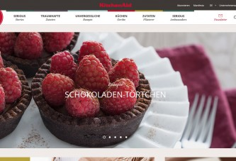 KitchenAid geht mit eigenem Food-Blog an den Start