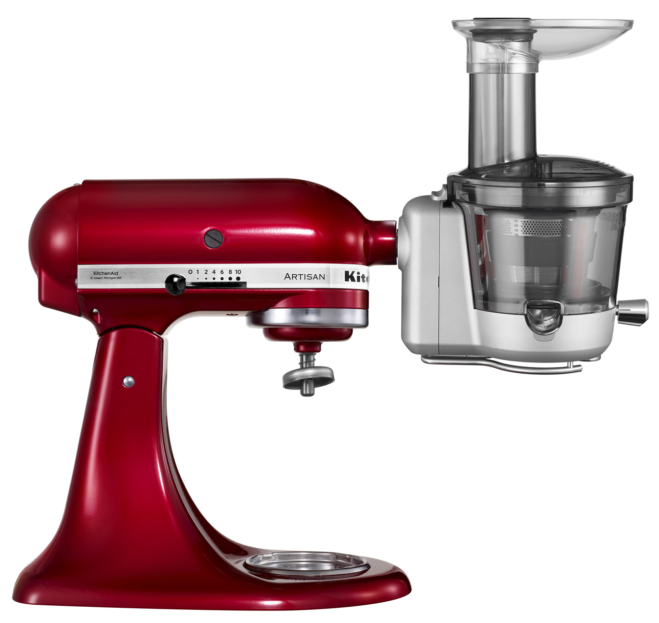 Entsafter kitchenaid test