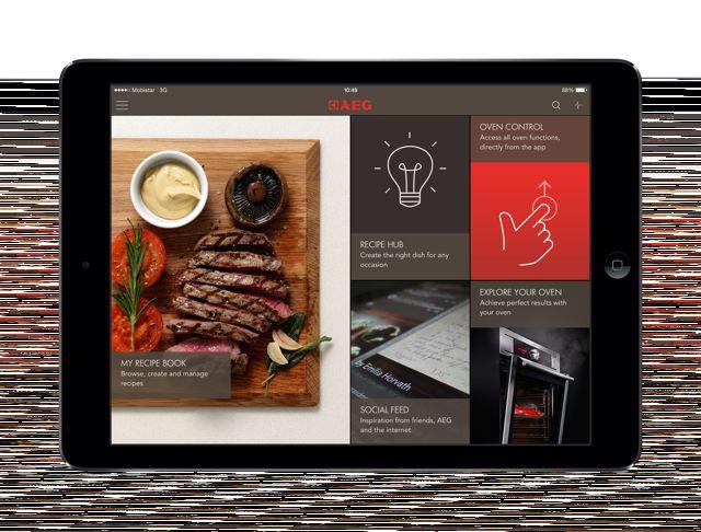 AEG: Eine App, die schmeckt!