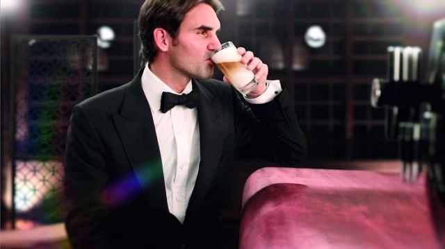Roger Federer als Jura-Testimonial