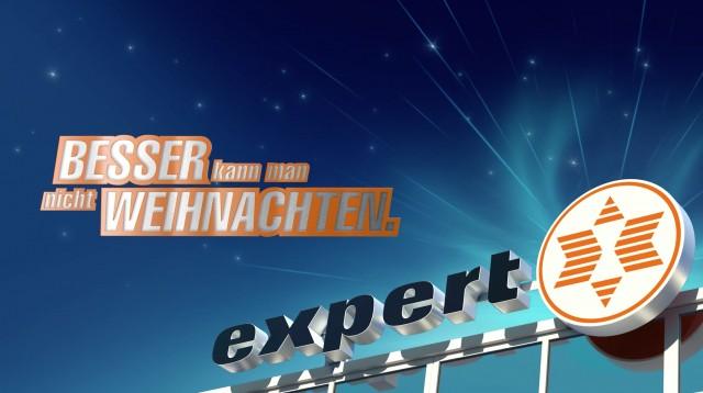 Weihnachtskampagne von expert on air.