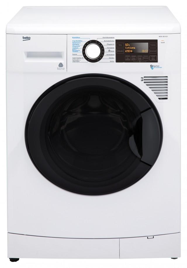 Beko Waschtrockner WDA 961431 für 9 Kilo Waschen, 6 Kilo Trocknen