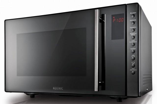 Koenic Mikrowelle KMW 4441DB mit Heißluft und Grill