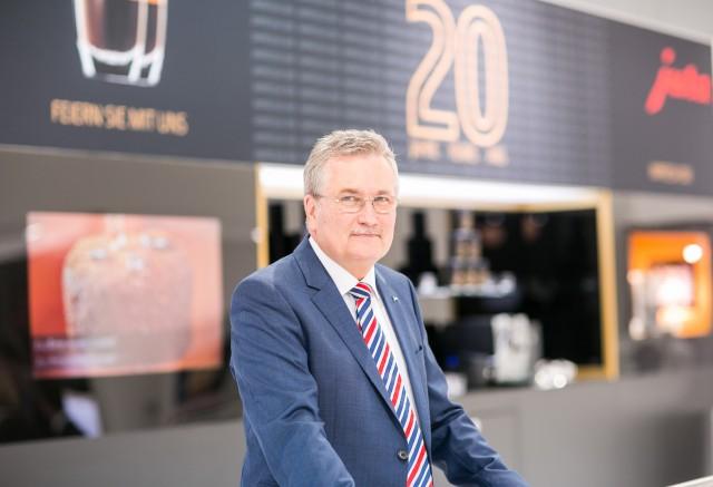 Rolf Diehl, Geschäftsführer Jura Elektrogeräte Vertriebs-GmbH