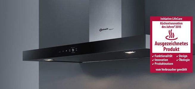 Lästige Kochgerüche gehören mit den leistungsstarken iXelium Dunstabzugshauben DBTR 9190 IXL und DBTRI 9110 IXL der Vergangenheit an.