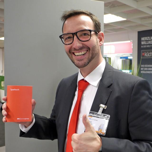 Martin Wolf, Vertriebsleiter Hausgeräte bei EK/servicegroup