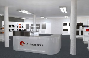3D-Ladenplanung von e-masters