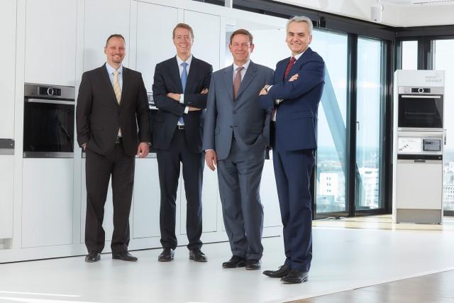 BSH Pressegespräch 2015: Dr. Michael Schöllhorn, Johannes Närger, Dr. Karsten Ottenberg und Matthias Ginthum (v.l.n.r.)